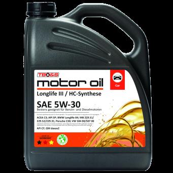 SAE 5W30 Longlife III / 5 Liter